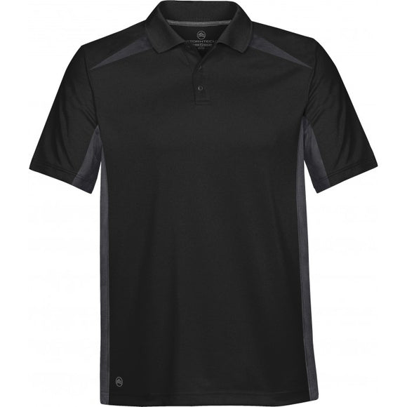 Two-tone Technical Polo Men's - Customize it!