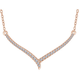 "14kt Rose Gold ""Effervescent"" Necklace"