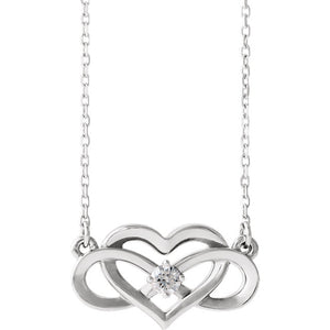 """Infinity For Ever"" Necklace"