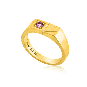 "Omega Psi Phi ""His Majesty"" Ring"