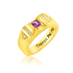 "Omega Psi Phi ""Suave Gentleman"" Ring"