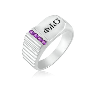 "Omega Psi Phi ""Night Out"" Ring"