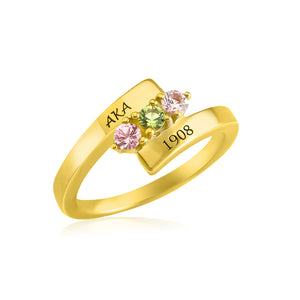 "AKA 14KT Yellow Gold ""Perfection"" Ring"