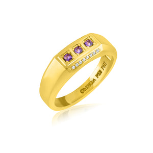 "Omega Psi Phi ""The King"" Ring"