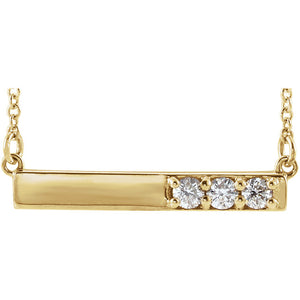 "14k Yellow Gold ""Fabulous"" Necklace"