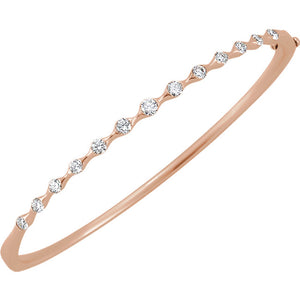 """One in a Million"" Bracelet in 14Kt Rose Gold"