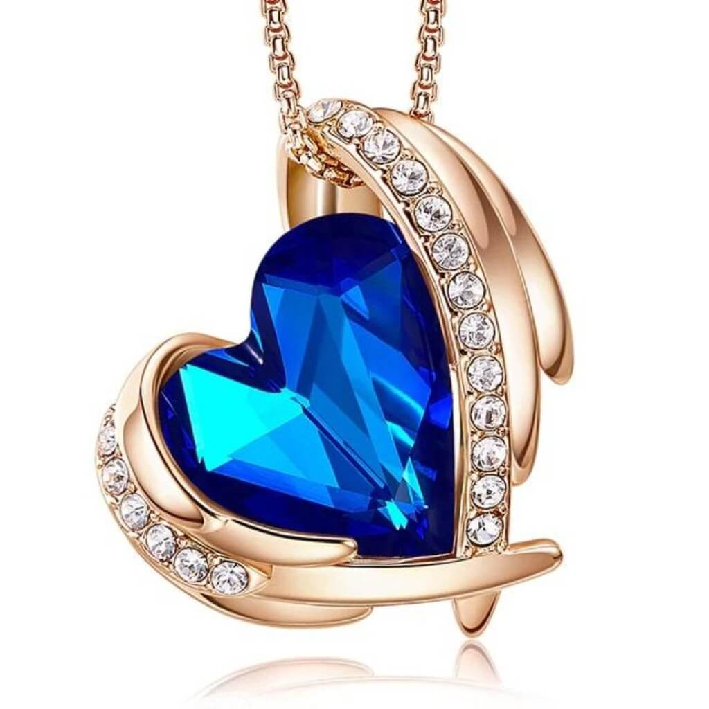 Ocean Angel Heart Necklace