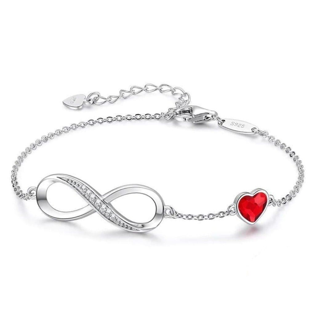 Silver Eternal Love Bracelet
