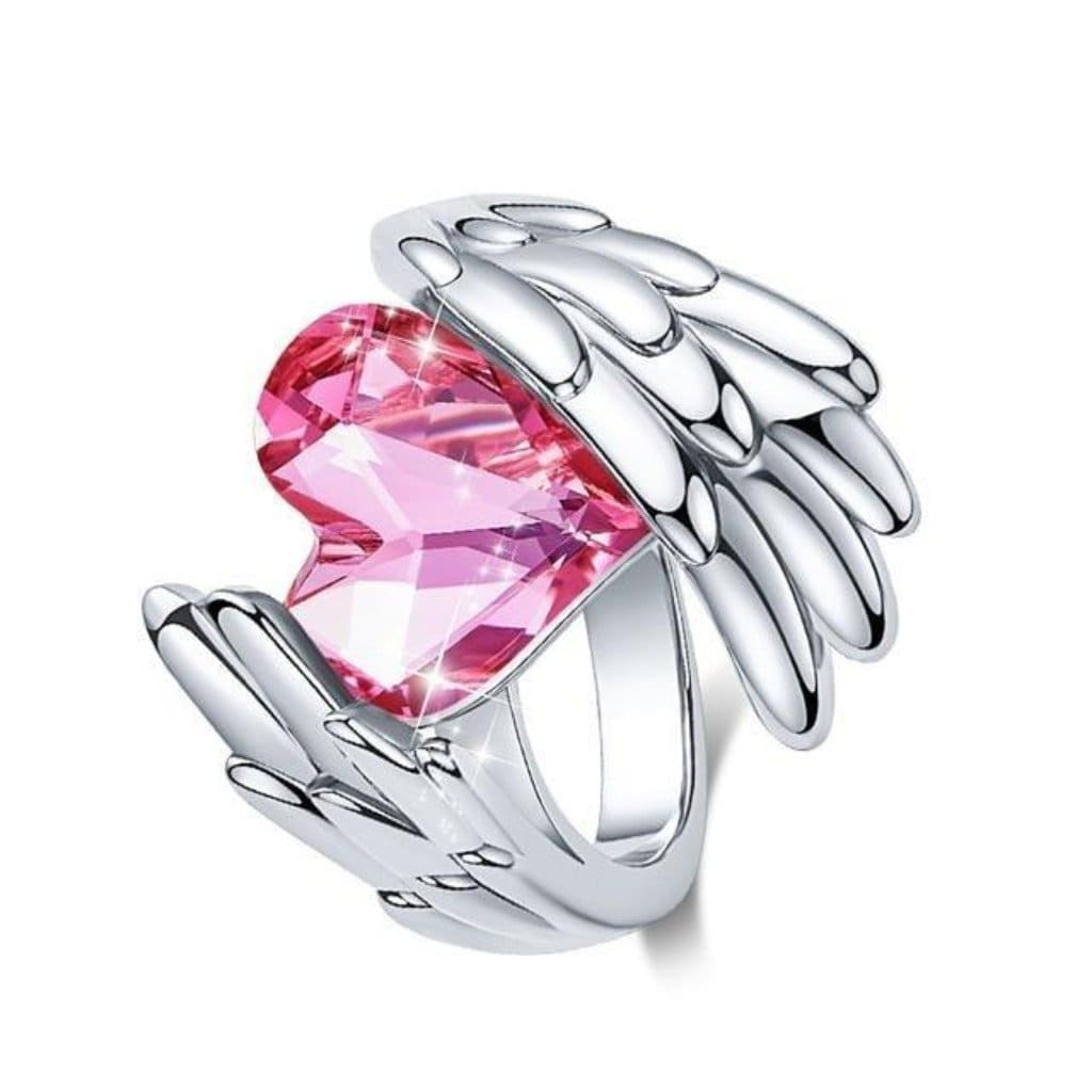 Pink Angel Ring