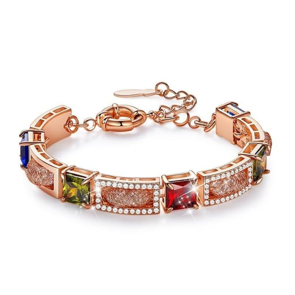 Sparkling Colorful Bracelet