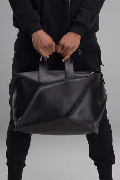MDNT45 Bags & Backpacks Black Geometric tote bag