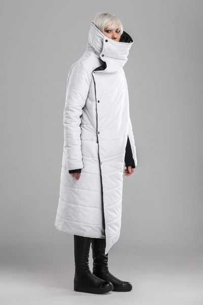 MDNT45 Black-white puffer jacket
