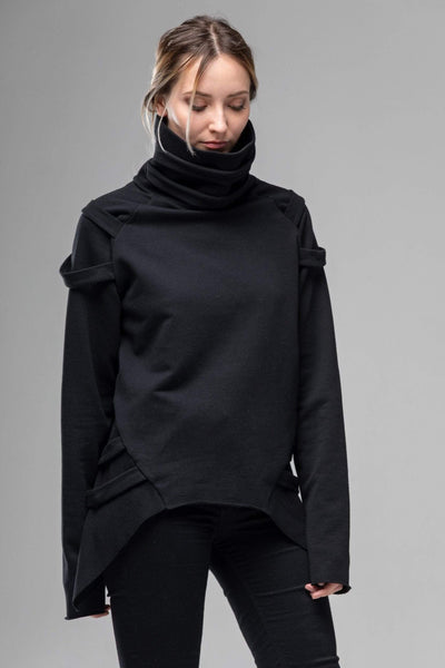 MDNT45 Sweaters, Tunics & Tops Cyberpunk Gothic Turtleneck Sweater