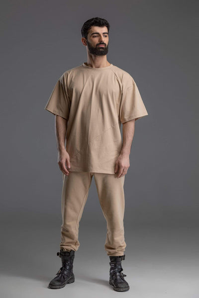 MDNT45 Tops & T-shirts Basic beige t-shirt