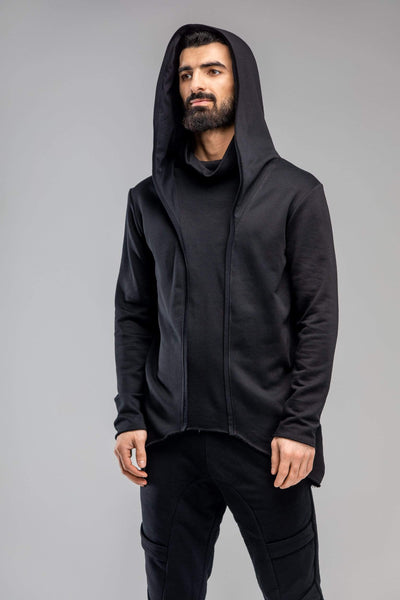 MDNT45 Tops & T-shirts Geometric black hoodie