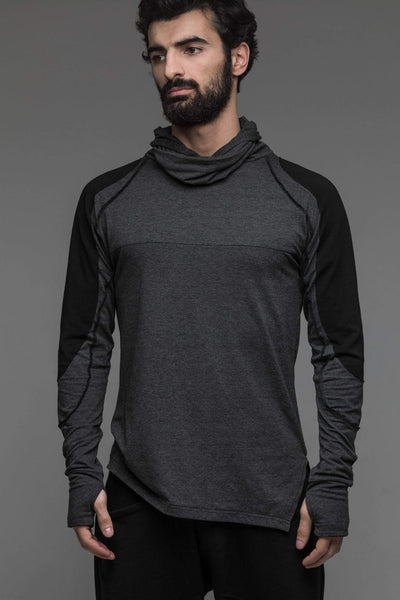 MDNT45 Tops & T-shirts Men's grey futuristic jumper