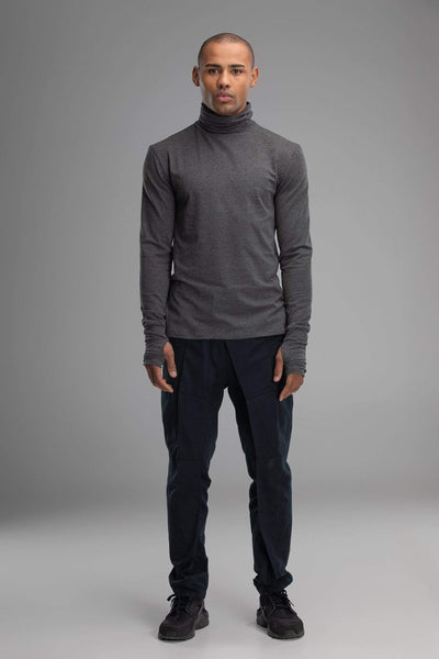 MDNT45 Tops & T-shirts Turtleneck grey sweater