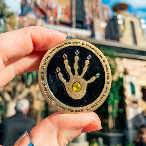 The Guardians Gauntlet Pin