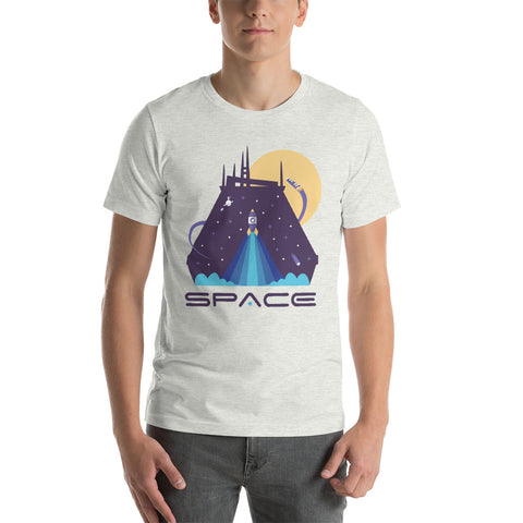 Space Mountian Unisex Tee