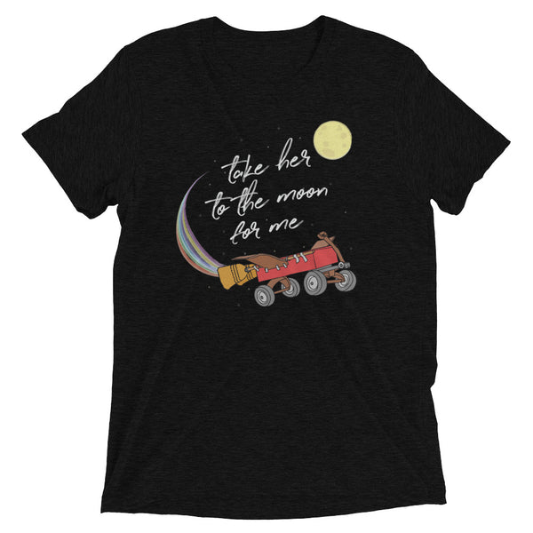 Take Her to the Moon for Me Unisex Tee