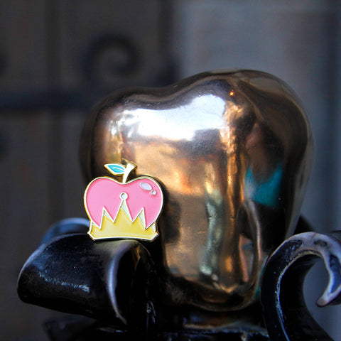Shining Apple Pin