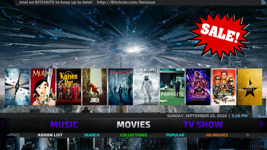 Kodi 19 Latest Jailbroken Fire Stick with Live TV All Channels 4K HD