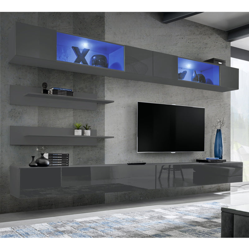 Fly I 30TV Wall Mounted Floating Modern Entertainment Center - Meble Furniture