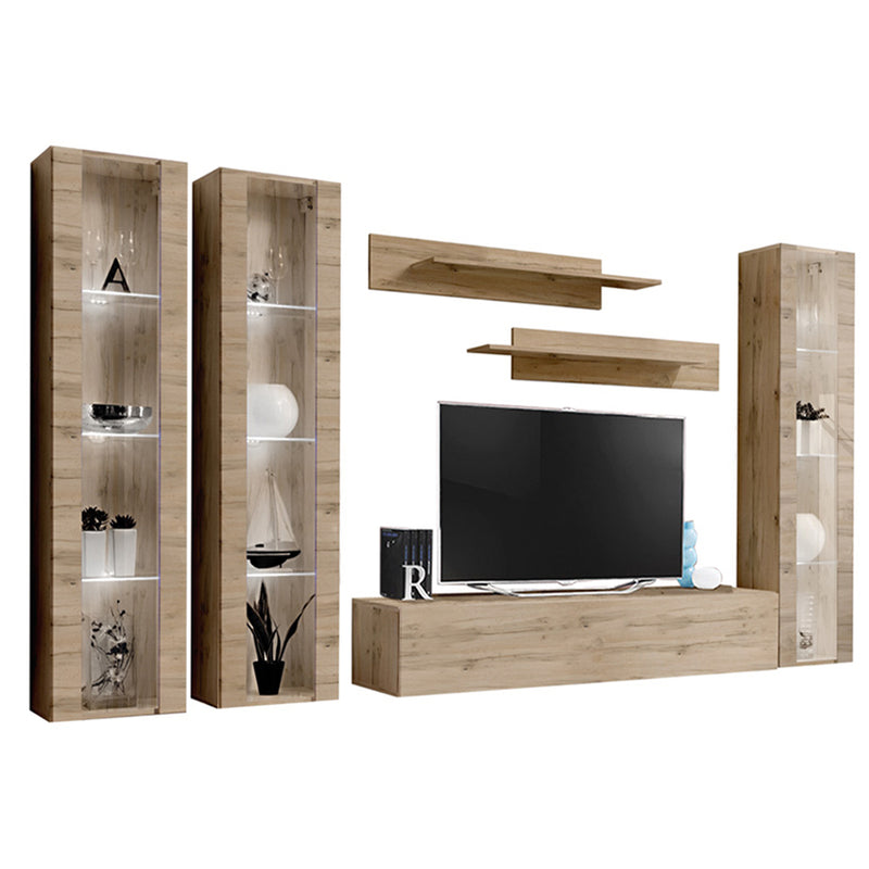 Fly C 30TV Wall Mounted Floating Modern Entertainment Center