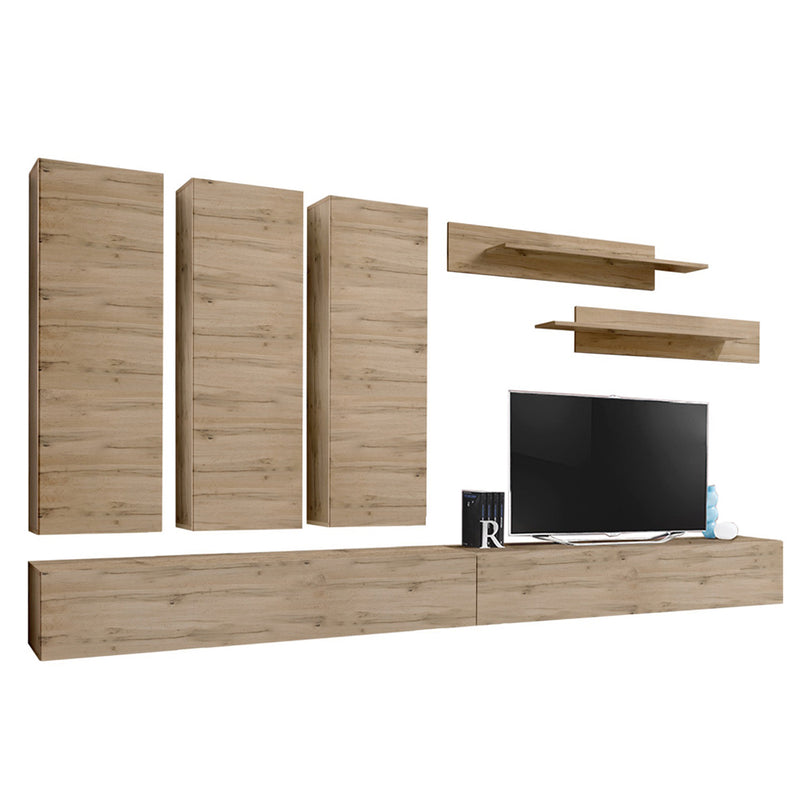 Fly E 30TV Wall Mounted Floating Modern Entertainment Center - Meble Furniture & Rugs