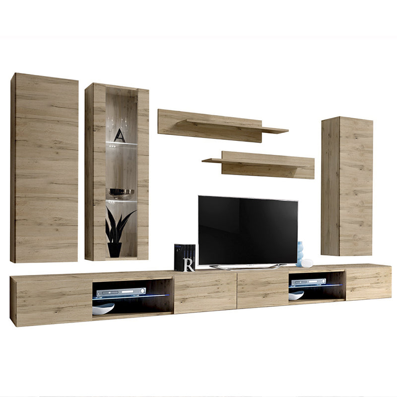 Fly E 33TV Wall Mounted Floating Modern Entertainment Center
