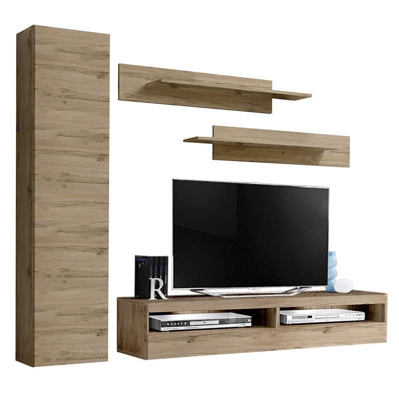 Fly G 35TV Wall Mounted Floating Modern Entertainment Center