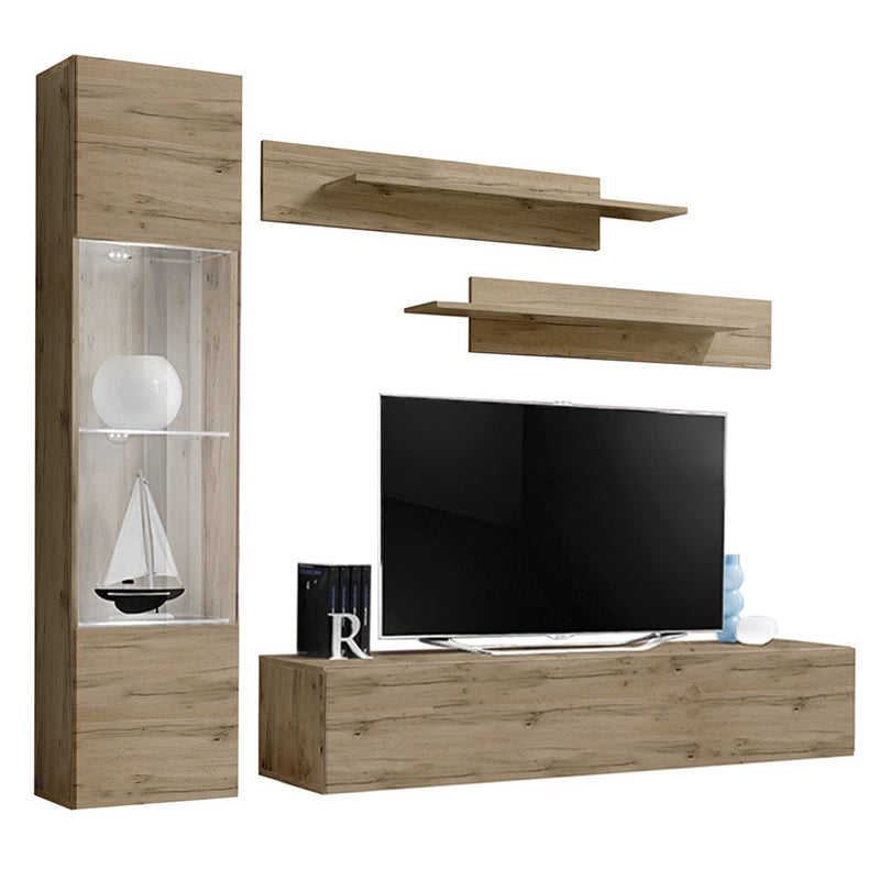 Fly G 30TV Wall Mounted Floating Modern Entertainment Center - Meble Furniture & Rugs