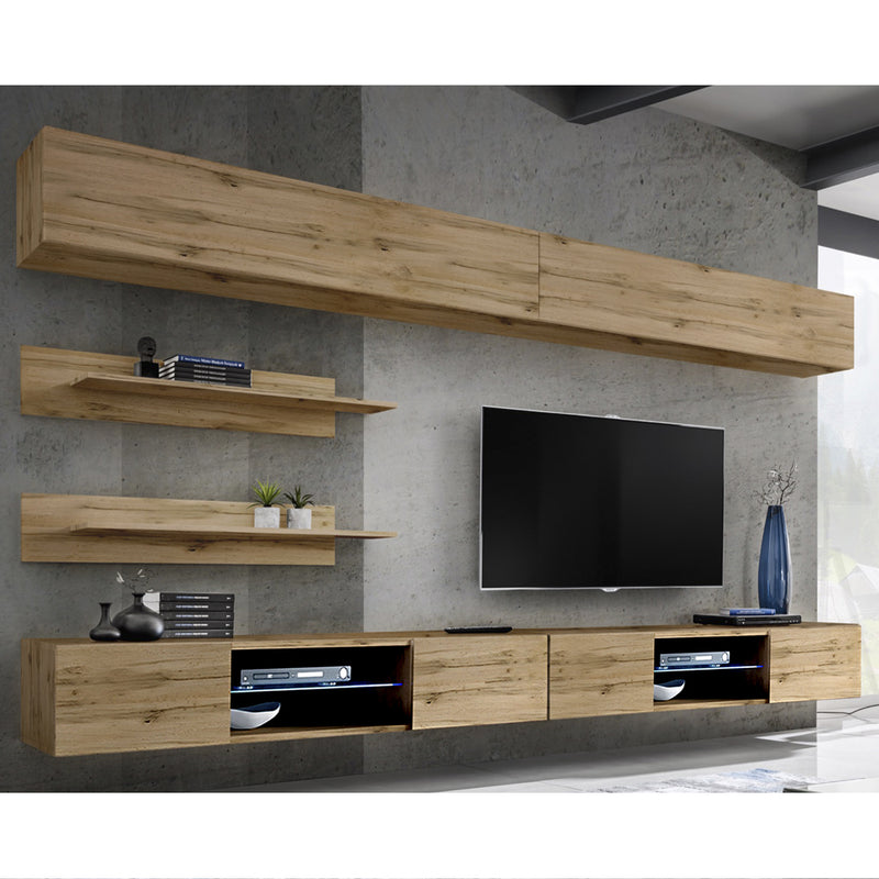 Fly I 33TV Wall Mounted Floating Modern Entertainment Center - Meble Furniture & Rugs