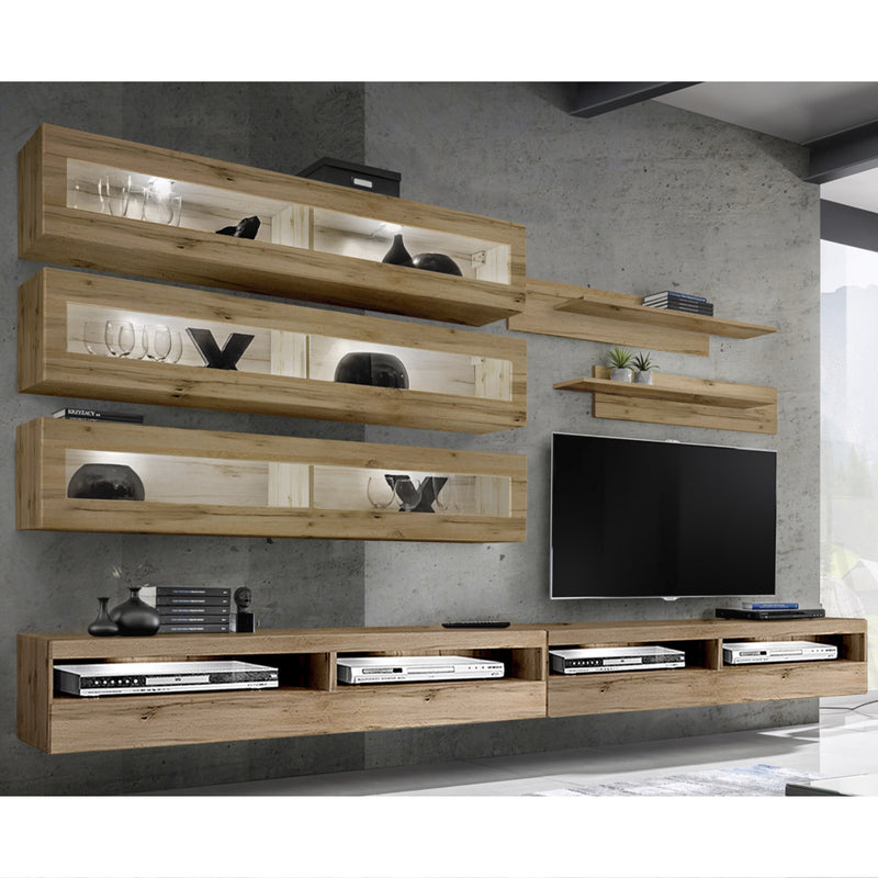 Fly J 35TV Wall Mounted Floating Modern Entertainment Center - Meble Furniture