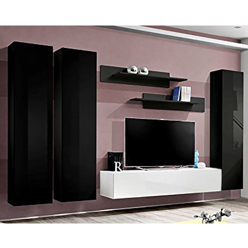 Fly C 30TV Wall Mounted Floating Modern Entertainment Center - Meble Furniture