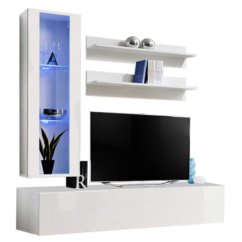 Fly H 30TV Wall Mounted Floating Modern Entertainment Center - Meble Furniture & Rugs