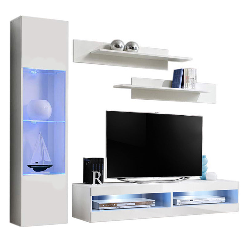 Fly G 34TV Wall Mounted Floating Modern Entertainment Center