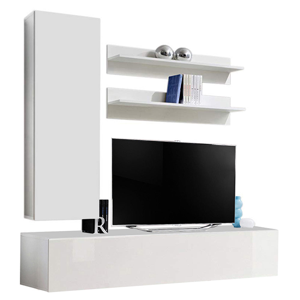 Fly H 30TV Wall Mounted Floating Modern Entertainment Center