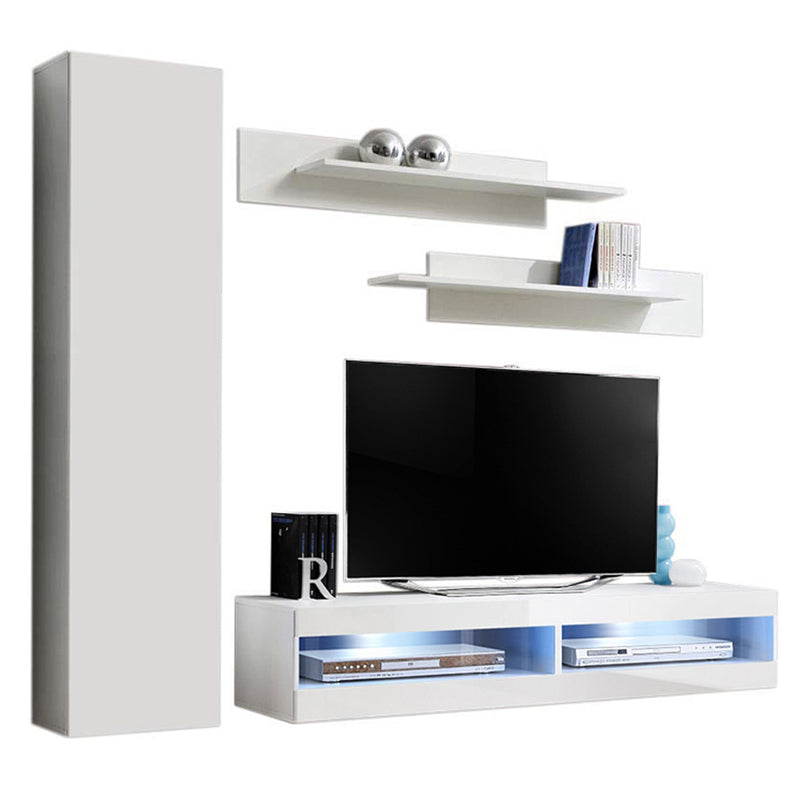 Fly G 34TV Wall Mounted Floating Modern Entertainment Center - Meble Furniture