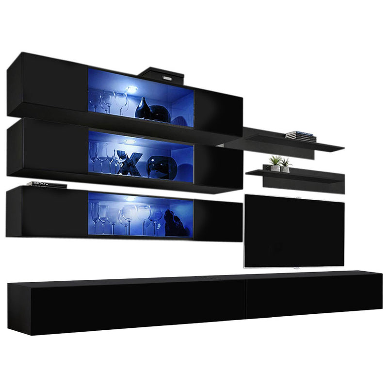 Fly J 30TV Wall Mounted Floating Modern Entertainment Center - Meble Furniture & Rugs
