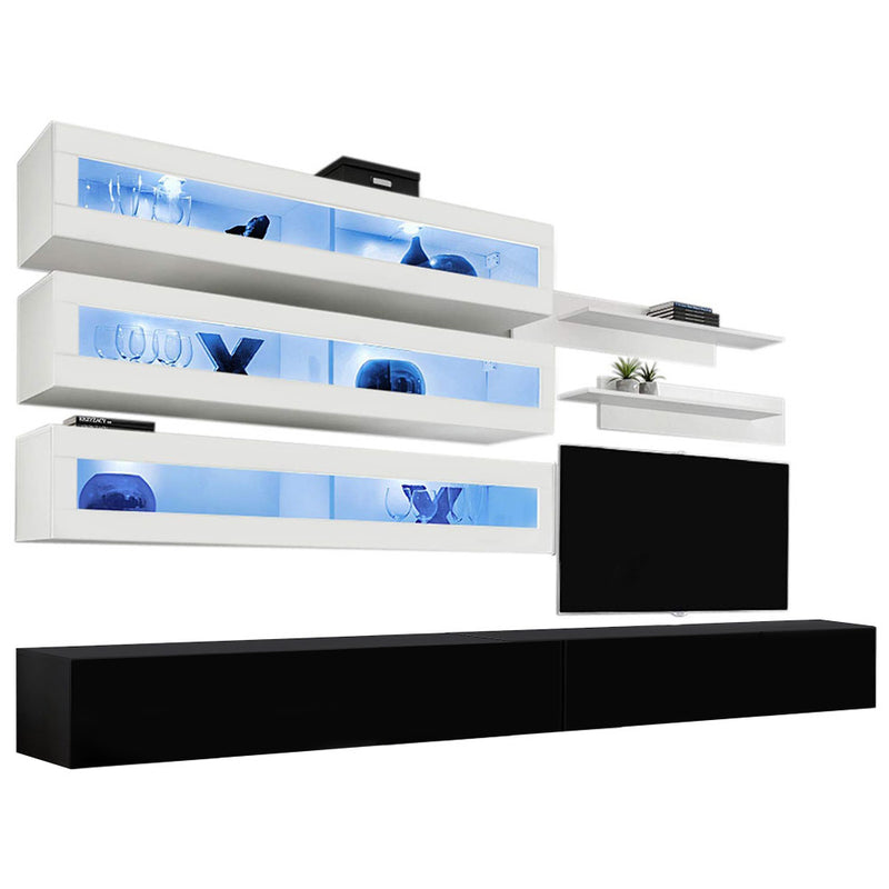 Fly J 30TV Wall Mounted Floating Modern Entertainment Center - Meble Furniture