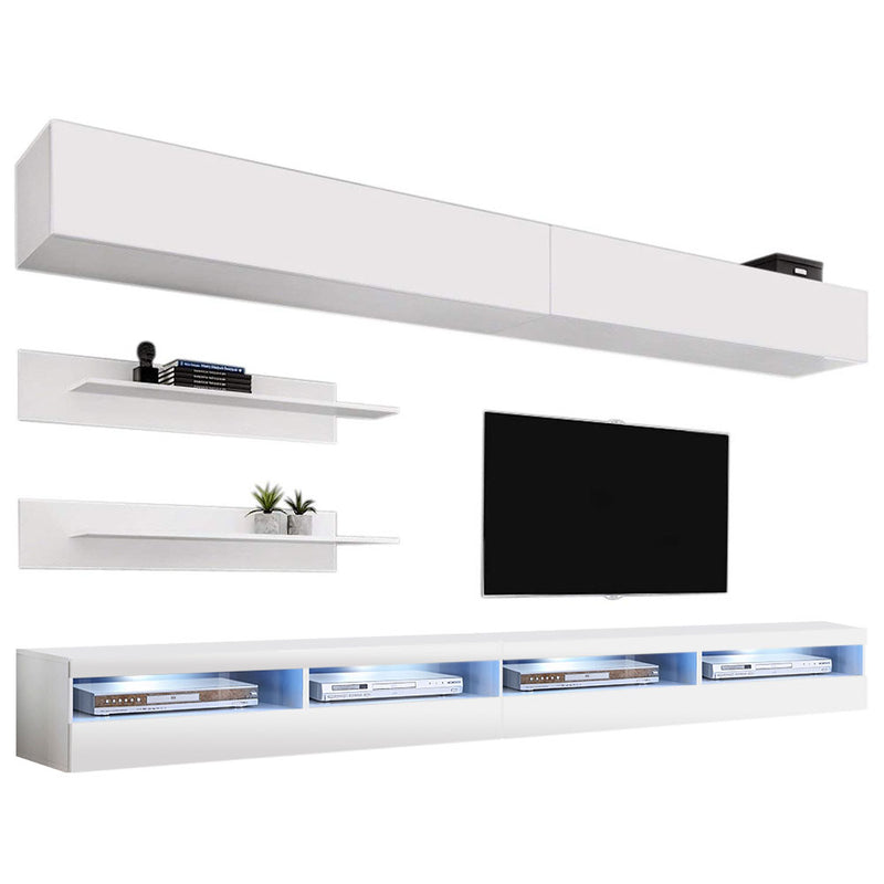 Fly I 35TV Wall Mounted Floating Modern Entertainment Center