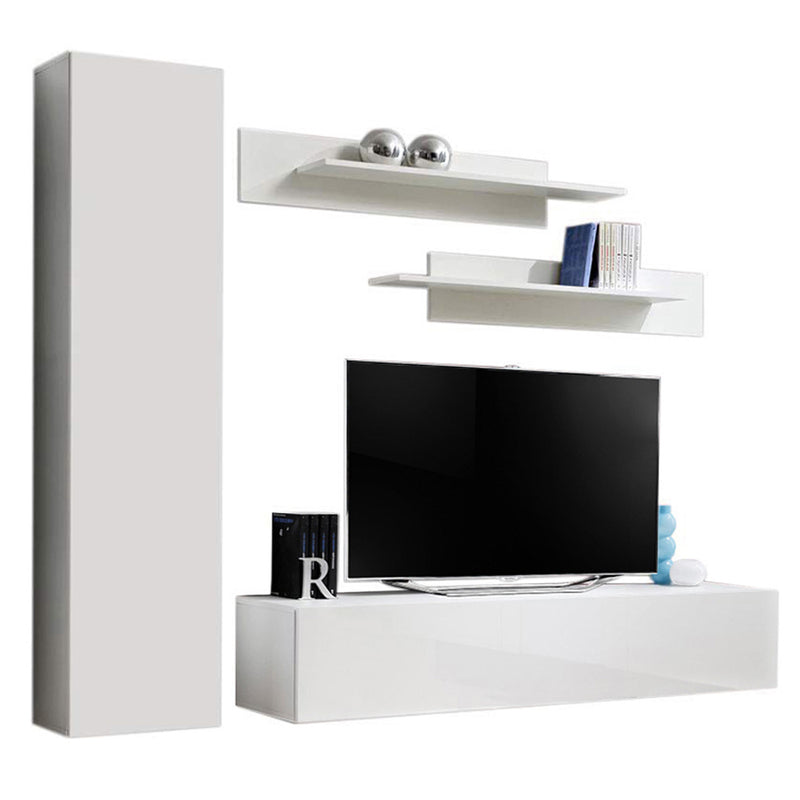 Fly G 30TV Wall Mounted Floating Modern Entertainment Center