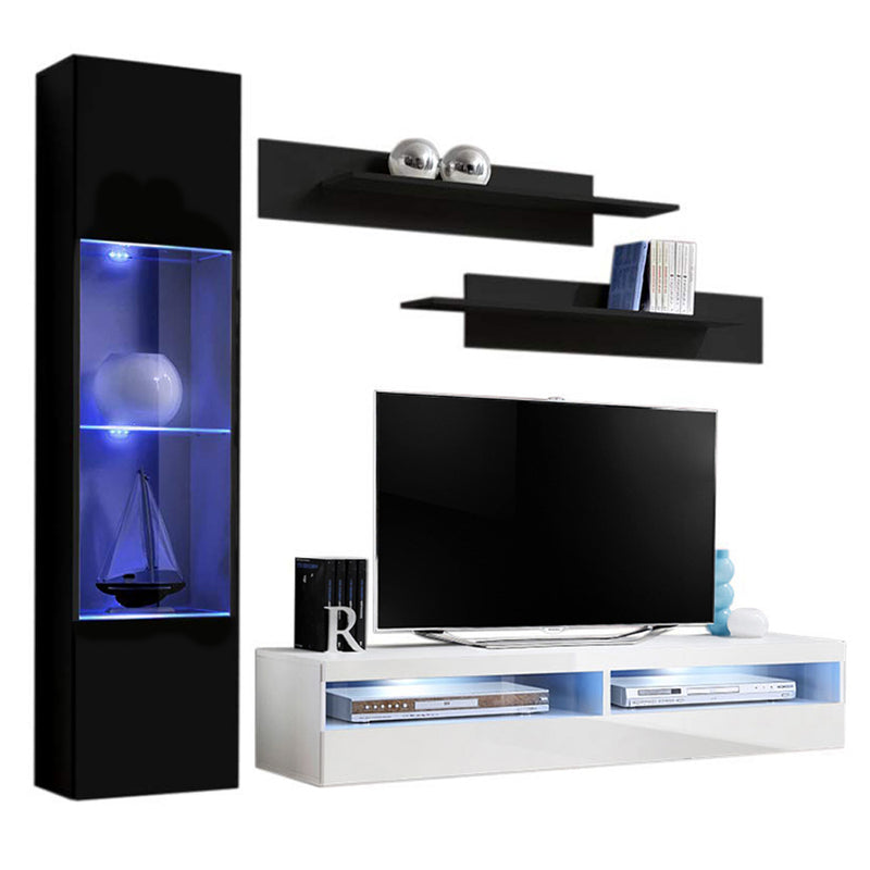 Fly G 35TV Wall Mounted Floating Modern Entertainment Center - Meble Furniture