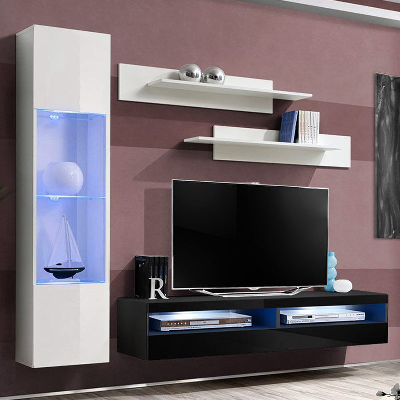 Fly G 35TV Wall Mounted Floating Modern Entertainment Center - Meble Furniture & Rugs