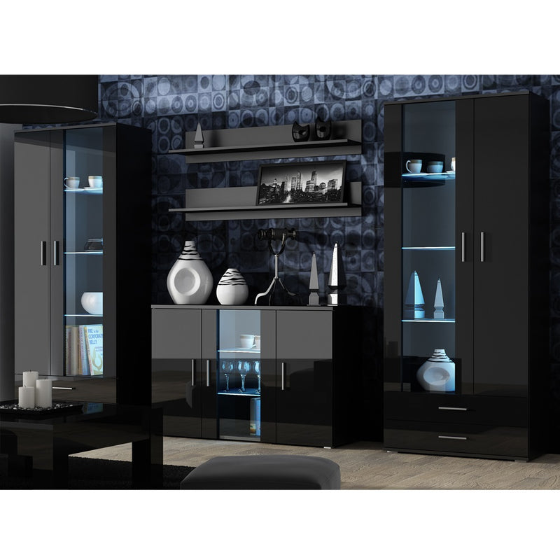 Soho 10 Modern Wall Unit Entertainment Center - Meble Furniture