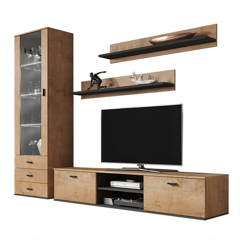Soho 1 Modern Wall Unit Entertainment Center - Meble Furniture