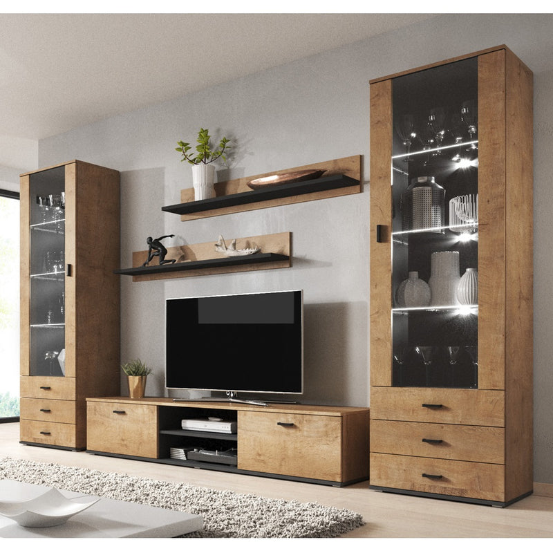 Soho 4 Modern Wall Unit Entertainment Center - Meble Furniture