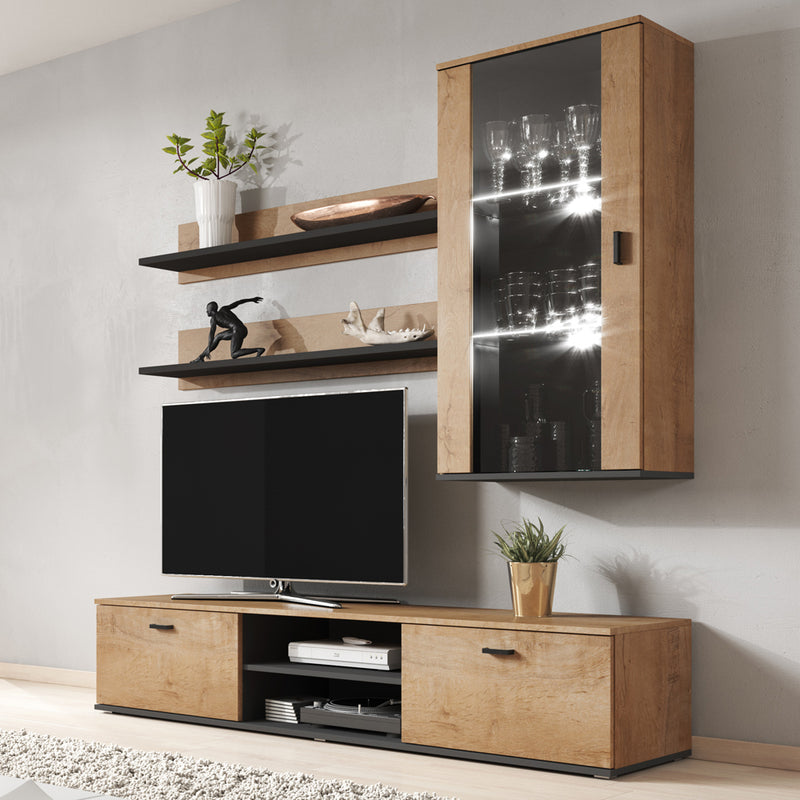 Soho 5 Modern Wall Unit Entertainment Center - Meble Furniture
