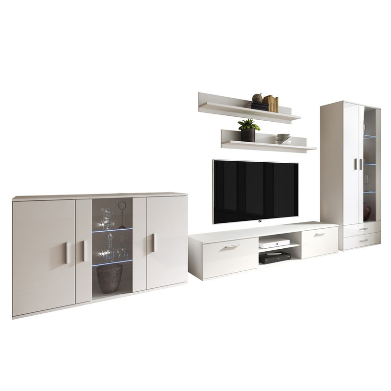 Soho 9 Modern Wall Unit Entertainment Center - Meble Furniture